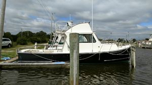 Used Duffy Hard Top Flying Bridge Commercial Boat For Sale