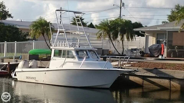 Used Defiance Admiral 250 EX Pilothouse Boat For Sale