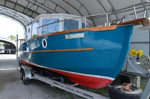 Used Devlin Surf Scoter Trawler Boat For Sale