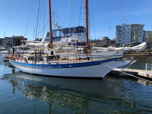 Used Bill Garden Wallon Schooner Sailboat For Sale