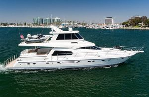 Used Johnson Skylounge Motor Yacht For Sale