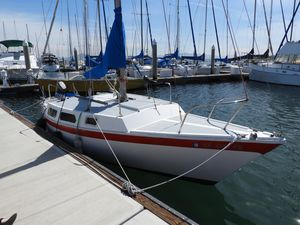 Used Cal Jensen T/4 Racer and Cruiser Sailboat For Sale