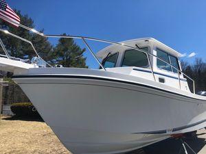 New Steiger Craft 255 DV Chesapeake Cuddy Cabin Boat For Sale
