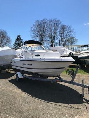 Used Seaswirl Striper 1851 Walkaround O/B Center Console Fishing Boat For Sale