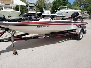 Used Procraft 180 Bass Freshwater Fishing Boat For Sale