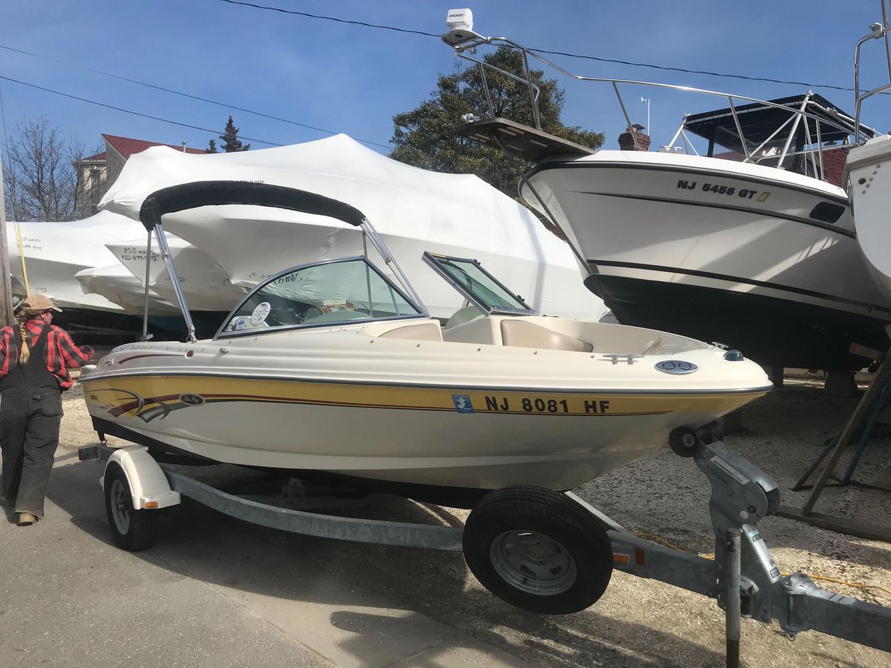 2003 Used Sea Ray 175 Bow Rider Bowrider Boat For Sale
