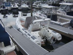 Used Brig Inflatables Eagle 650 Center Console Fishing Boat For Sale