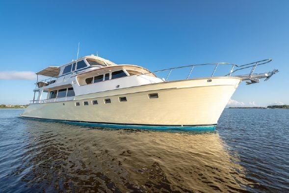 2006 Used Marlow 72 Explorer - Long Range Motor Yacht For