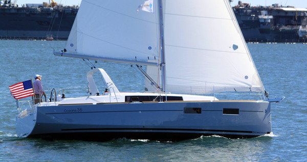 New Beneteau Oceanis 35 Racer and Cruiser Sailboat For Sale