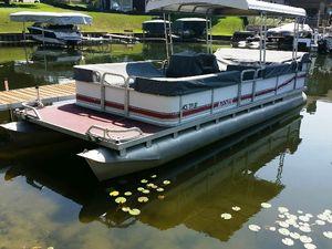 Used Manitou 24pontoon Pontoon Boat For Sale