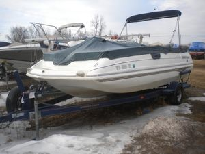 Used Smoker Craft 2030deck Bowrider Boat For Sale