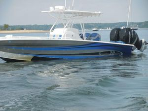 Used Concept Boats 30 Open Deck Sports Fishing Boat For Sale