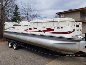 Used Bentley 24 Pontoon Boat For Sale