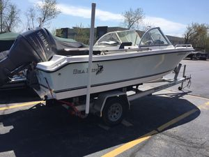 Used Kencraft 190 Sea King Sports Cruiser Boat For Sale