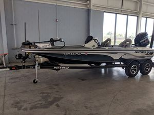 Used Nitro Z19 Pro Series Freshwater Fishing Boat For Sale