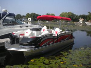 New Jc Pontoon Sporttoon 24 LG Pontoon Boat For Sale