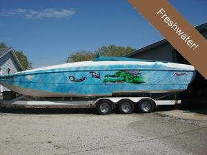 Used Predator 31 Cayman High Performance Boat For Sale