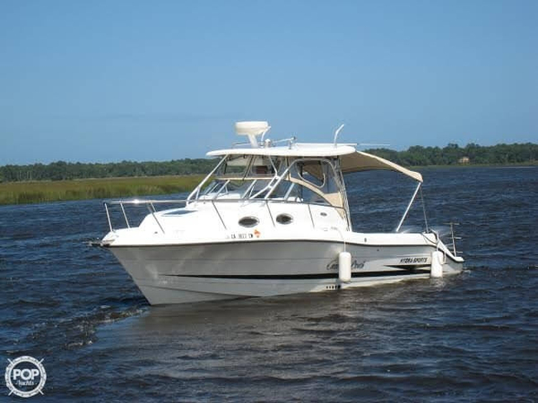 Used Hydra-Sports 2800 Vector Walkaround Fishing Boat For Sale