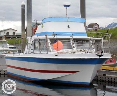 Used Uniflite 36 x 12 Sports Fishing Boat For Sale