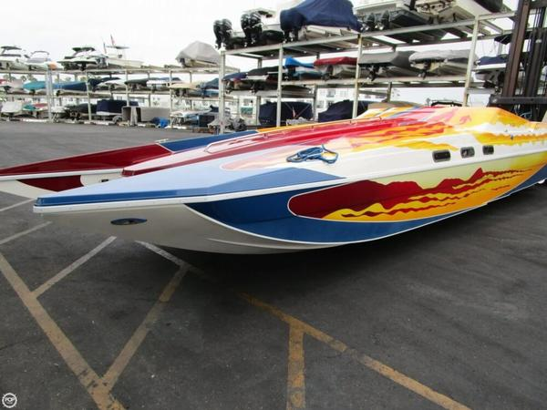 Used Warlock 36 SXT High Performance Boat For Sale