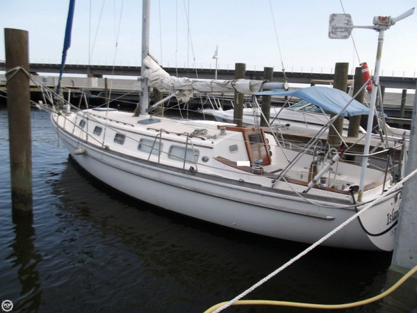 Used Gulfstar 37 Sloop Sailboat For Sale