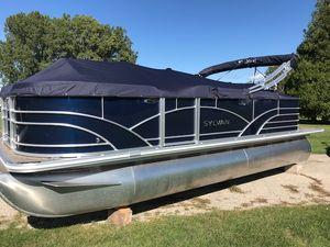 New Sylvan Mirage Fish 8520 4-PT Pontoon Boat For Sale