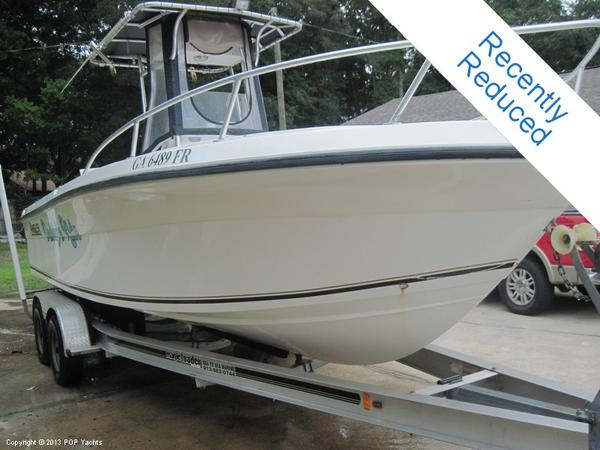 Used Angler 22 Center Console Fishing Boat For Sale