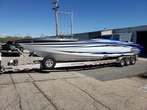 Used Cigarette 38 Top Gun GT High Performance Boat For Sale