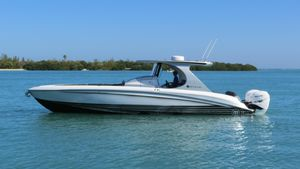 Used Mystic Powerboats M3800 High Performance Boat For Sale