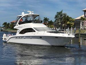 Used Sea Ray 52 Sedan Bridge Cruiser Boat For Sale