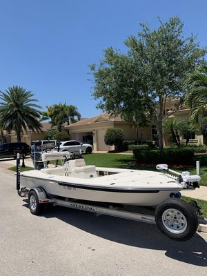 Used Sterling 180ts Center Console Fishing Boat For Sale