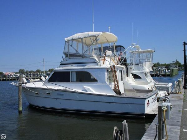 Used Egg Harbor 36 Sedan Sports Fishing Boat For Sale
