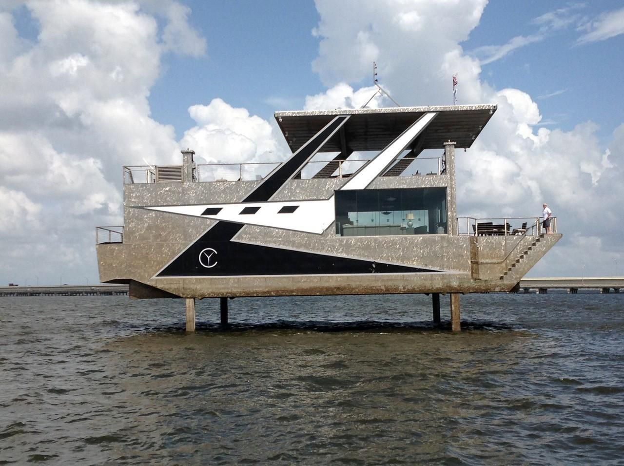2018 New Houseboat Cubic Yacht House Boat For Sale - St  Petersburg