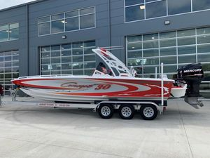 Used Concept 30' CC Center Console Fishing Boat For Sale