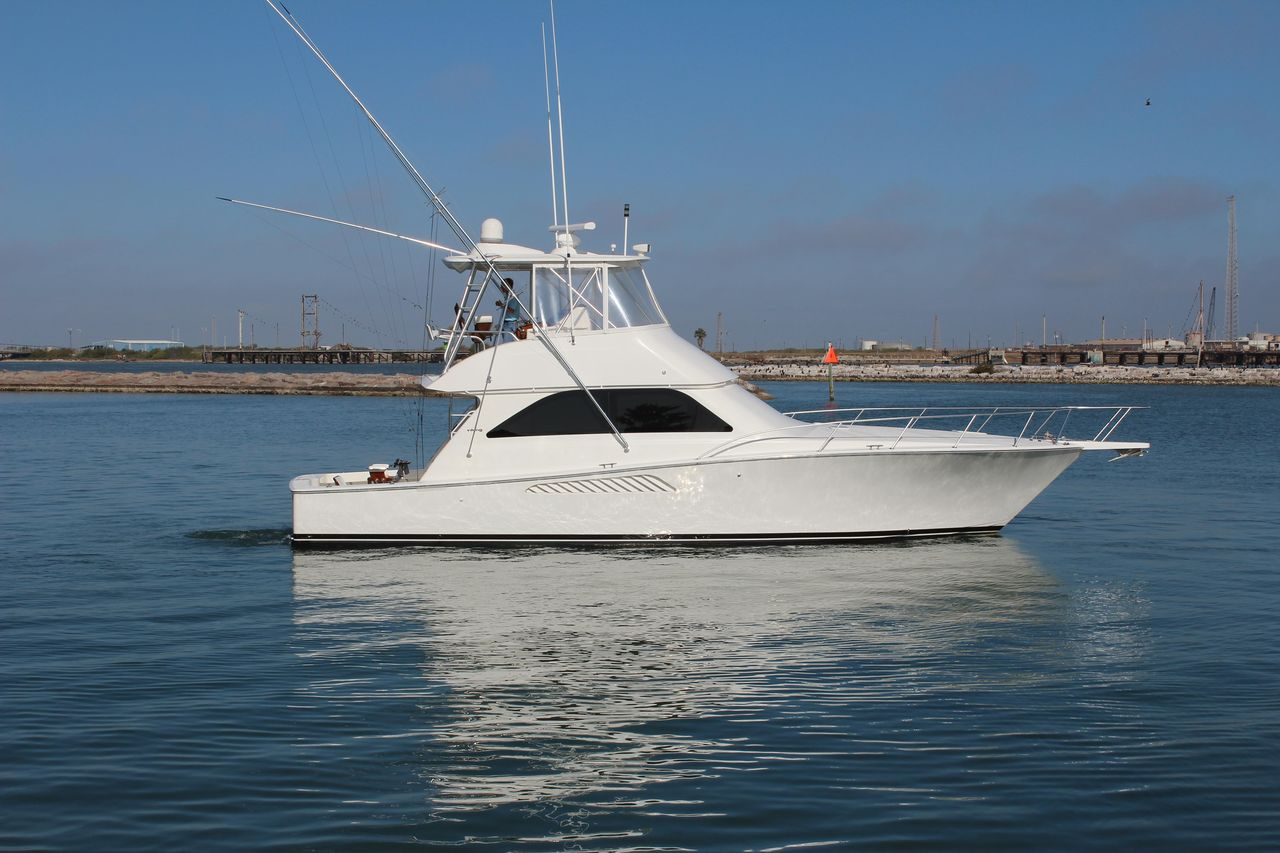2008 Used Viking Convertible Fishing Boat For Sale