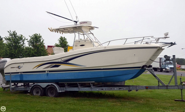 2000 used world cat 266 sf center console fishing boat for for Used fishing boats for sale in md