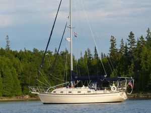Used Island Packet 350 Cutter Cruiser Sailboat For Sale
