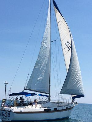Used Morgan OI 33 Cruiser Sailboat For Sale