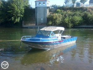 Used Boice Built 21 Aluminum Fishing Boat For Sale