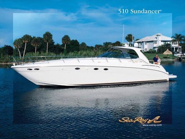 Used Sea Ray 510 Sundancer Sports Cruiser Boat For Sale