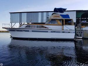Used Trojan Flush Deck Motoryacht 42 Aft Cabin Boat For Sale