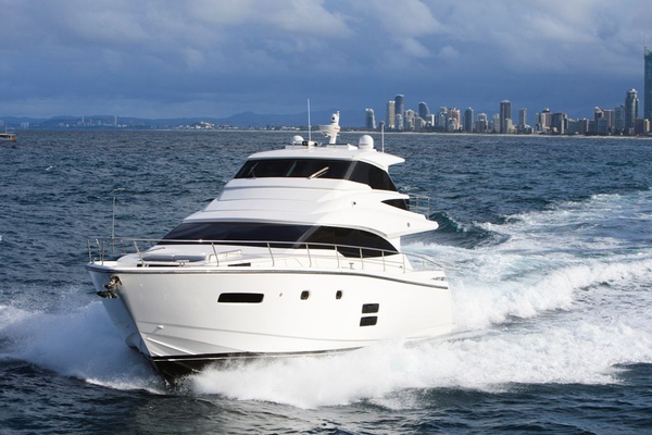 Used Johnson 65 Motor Yacht Sky-lounge Pilothouse Boat For Sale