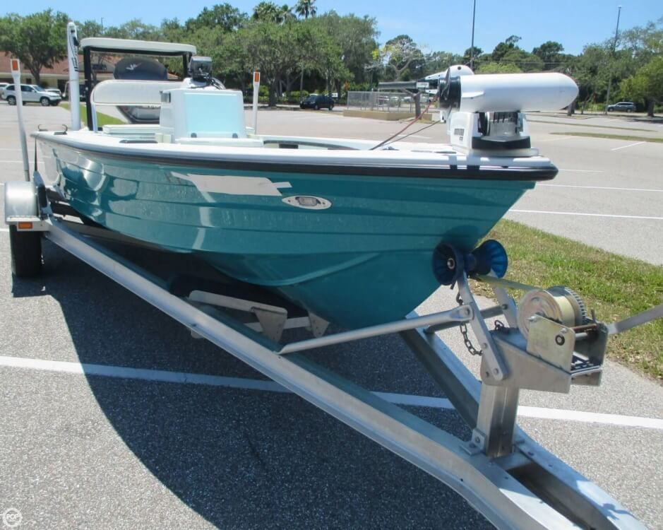 1996 Used Hewes Redfisher 18 Flats Fishing Boat For Sale - $18,750
