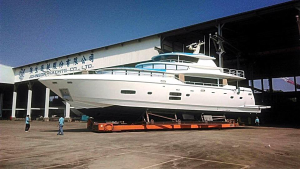 New Johnson 93 Limited Edition Pilothouse Boat For Sale