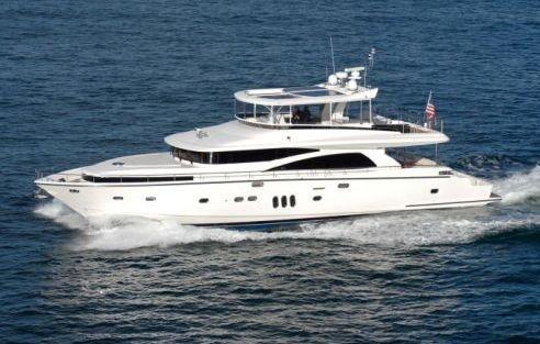 New Johnson 79 Motor Yacht Pilothouse Boat For Sale