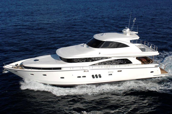 New Johnson 77 Motor Yacht Sky-lounge Pilothouse Boat For Sale