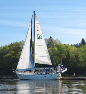 Used Csy 44 Walk Over Cutter Sailboat For Sale