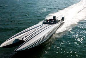 New Mystic Powerboats C3800 Power Catamaran Boat For Sale