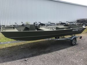 "New Alumacraft 1648-20"" SS Jon: River Special Jon Boat For Sale"