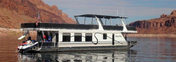 Used American Waterways Desert Rain Trip 14 House Boat For Sale